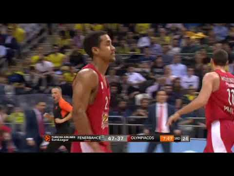 Fenerbahce-Olympiacos 83-90: Amazing Brian Roberts 21 pts (5 threes)