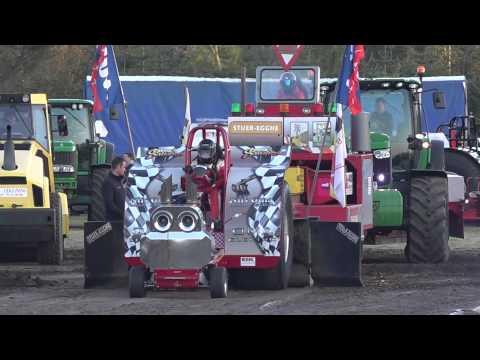 Modified 2,5t @ Brande DK 2015 Tractor Pulling