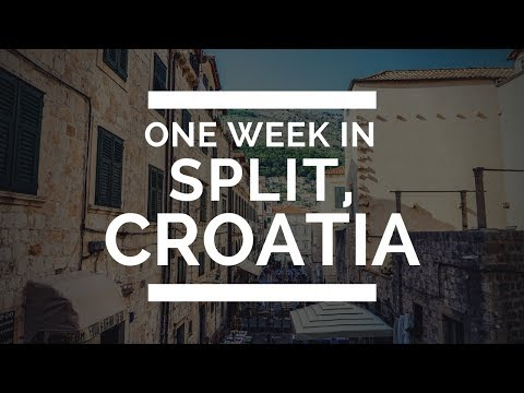 One Week in Split, Croatia | I LOST MY CREDIT CARD :(