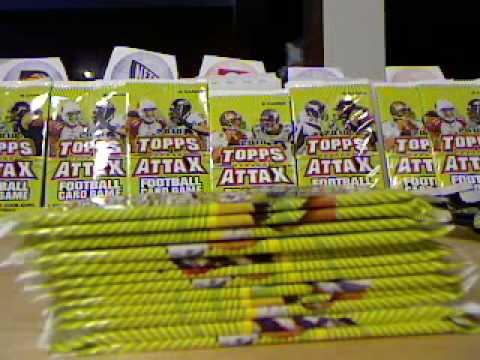 2010 NFL TOPPS ATTAX - PACK BREAKS - DEZ BRYANT INSERT CARDS