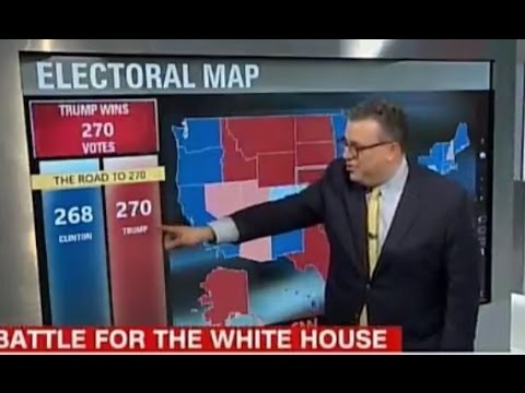 Finally Cnn Is Getting On Board Trump Can Win Boom He Gets To 270 Electoral Votes Youtube