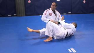 Half Guard Pass Sprawling the Hips (Gracie Barra Seattle's Competition Training Camp)
