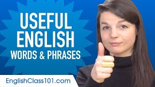 Useful English Words & Phrases to Speak Like a Native