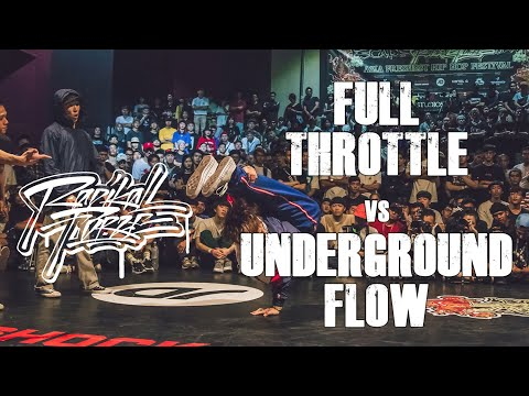 RADIKAL FORZE JAM 2019 | TOP 16 4vs4 | FULL THROTTLE Vs UNDERGROUND FLOW