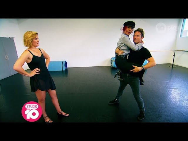 Sarah Harris Dancing With The Stars Lesson | Studio 10