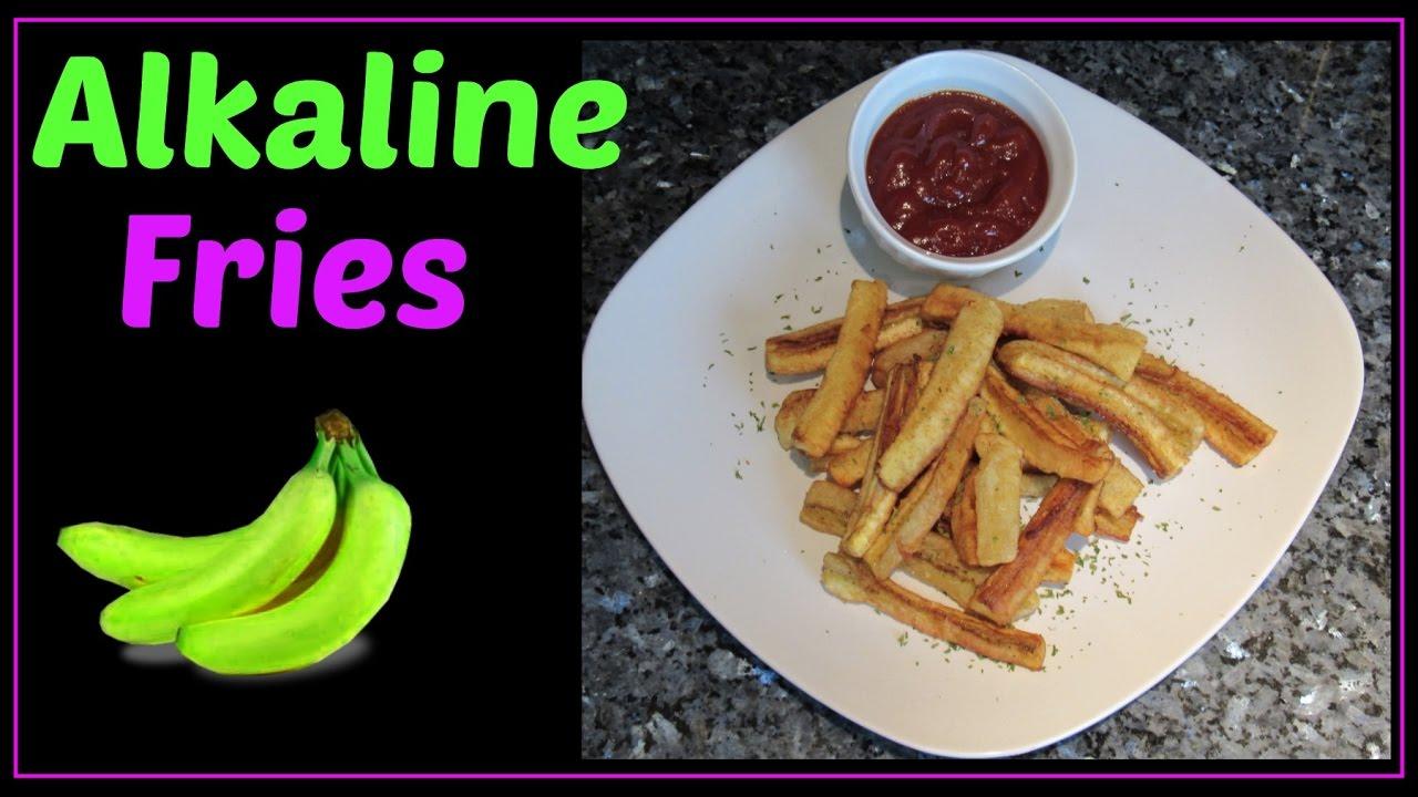 Alkaline Fries Dr  Sebi Approved Recipe