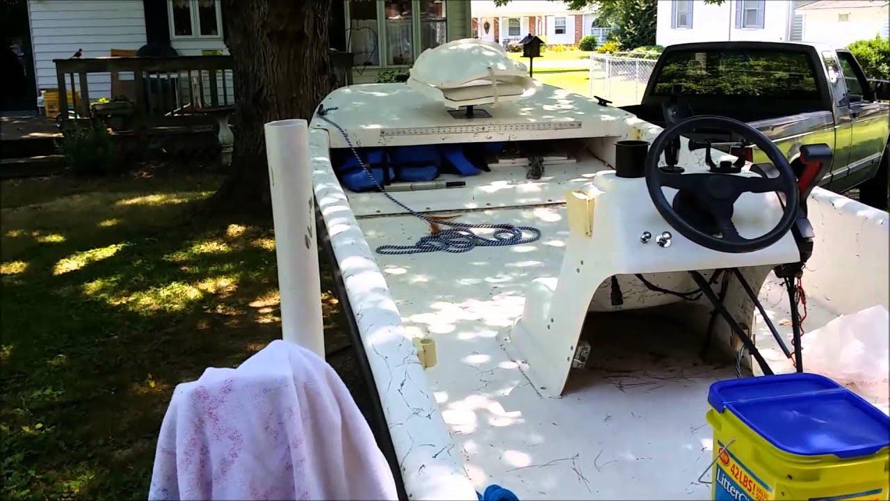 medium resolution of carolina skiff water in hull