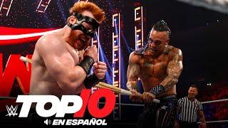 Top 10 Mejores Momentos de RAW: WWE Top 10, Sep 27, 2021
