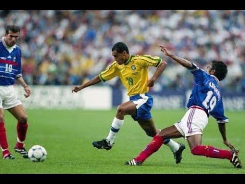 DENILSON SKILLS VS FRANCE - FINAL WORLD CUP 1998 (amazing Performance)