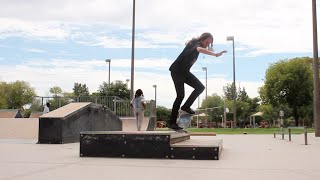 Maxx Mayberry Can Skate Ledges.