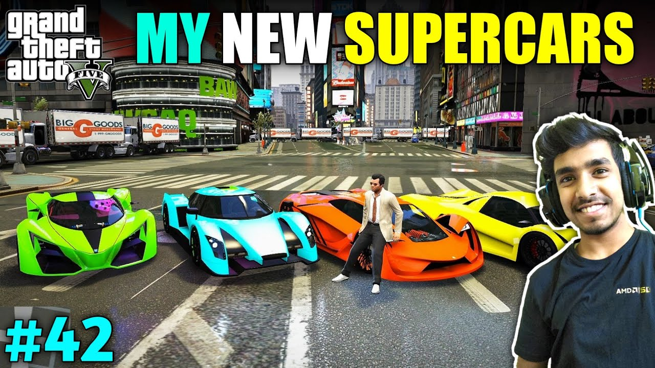 BUYING SUPER CARS FROM LIBERTY CITY | GTA V GAMEPLAY #42