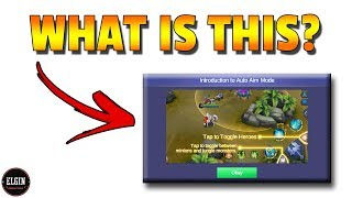 NEW AIMING MODE - WILL THIS HELP YOU? - MOBILE LEGENDS UPDATE