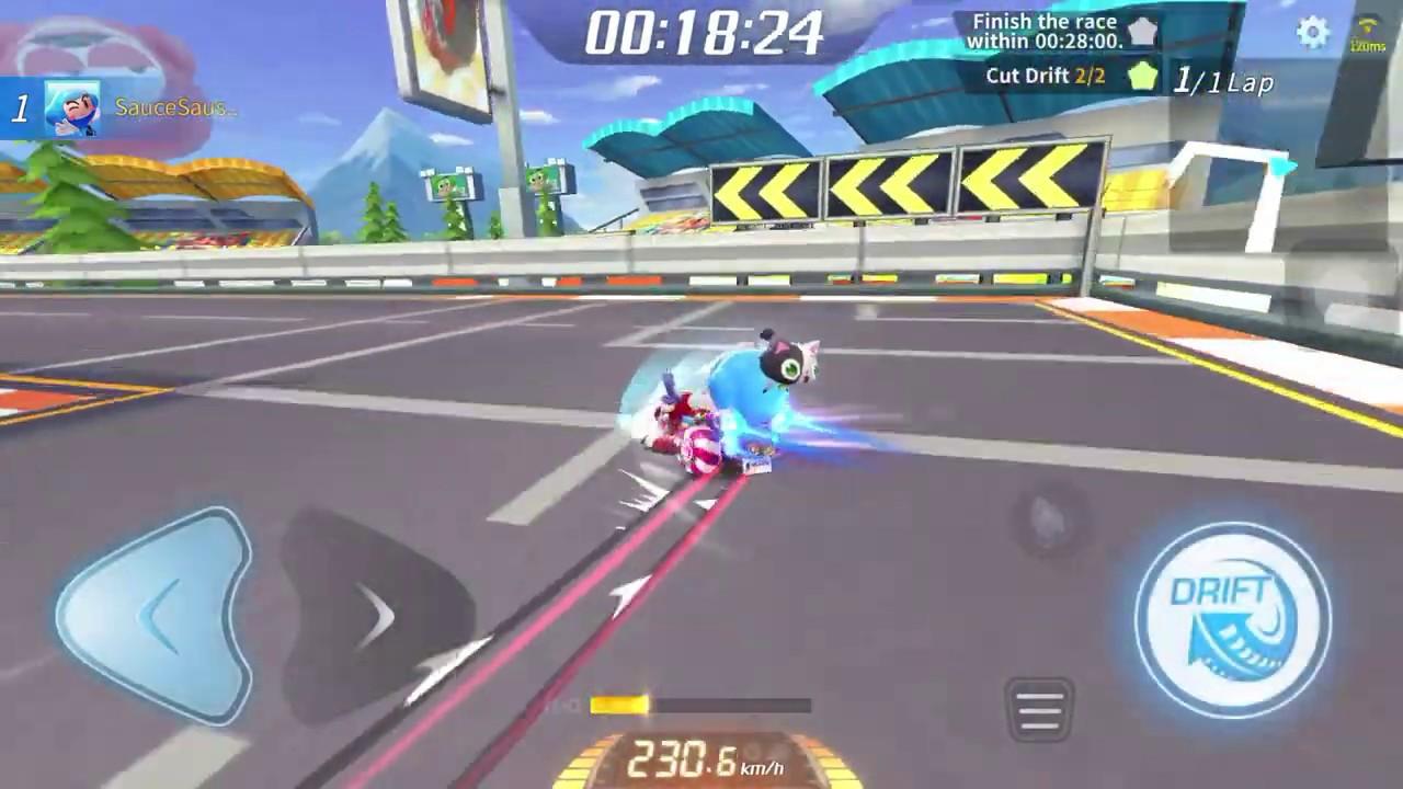 KartRider Rush+ How to cut drift