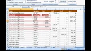 Microsoft Excel Урок 17  Создание простой таблицы
