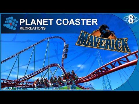 Planet Coaster - Recreations 08 - Maverick - Cedar Point - USA