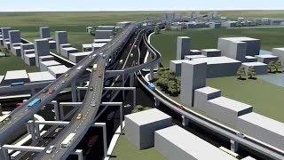 সর্বশেষ ঢাকা এলিভেটেডে এক্সপ্রেসওয়ের নির্মাণকাজ || Last Update Dhaka Elevated Expressway 2018
