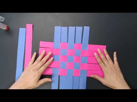 VBS 2019 Craft (Day 2): How to make a basket