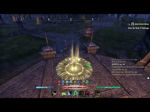 ESO: Squishy, Not Enough Healing Stamina Nightblade (LMAO)