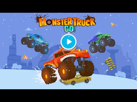 Monster Truck Go Truck Racing And Driving Games For Kids Kids Learning Kids Games Yateland Youtube