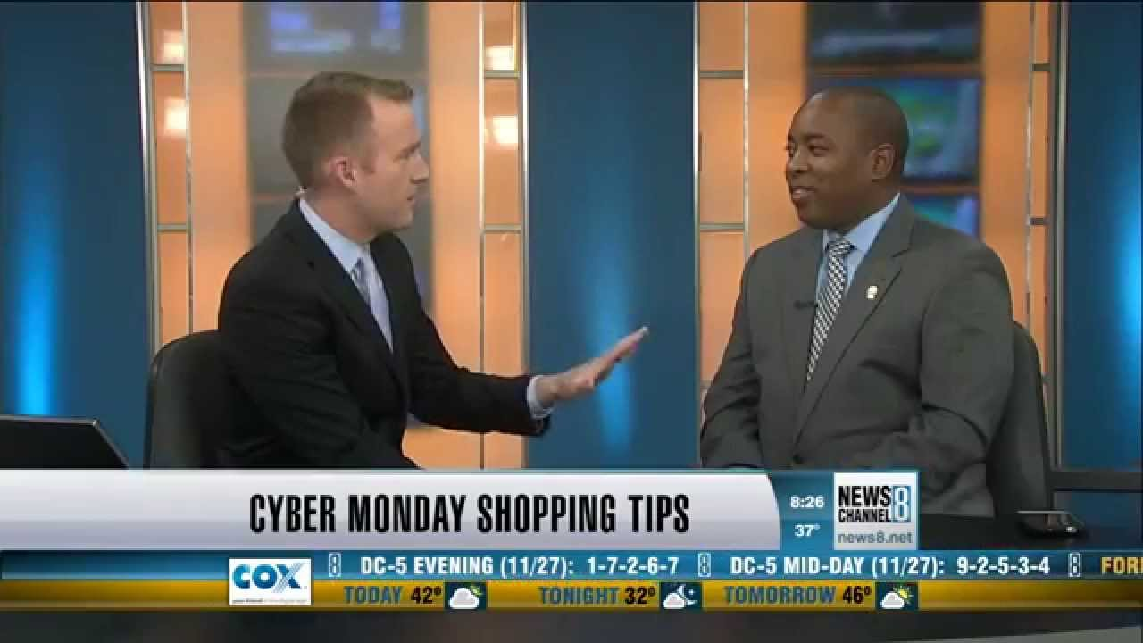 martin a smith discusses cyber monday online shopping on news channel 8 youtube. Black Bedroom Furniture Sets. Home Design Ideas