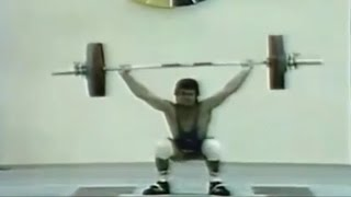 Neno Terziyski — 1985 World Weightlifting Championship.