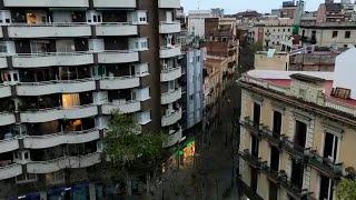 Ovación de Barcelona a los profesionales contra el coronavirus