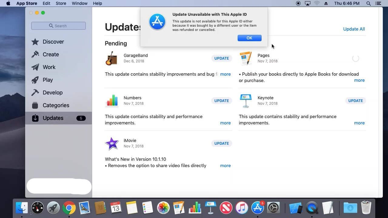 How to fix the Redownload Unavailable error in the App Store: