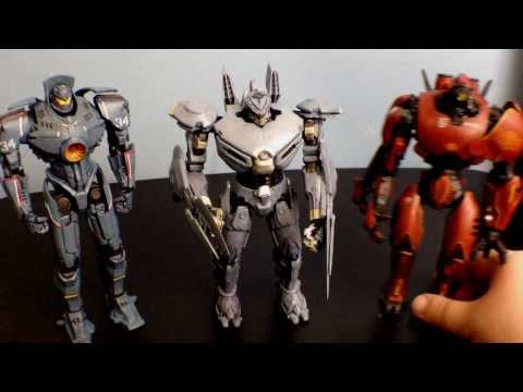 Neca Pacific Rim 7 Inch Jaeger Striker Eureka Figure Review