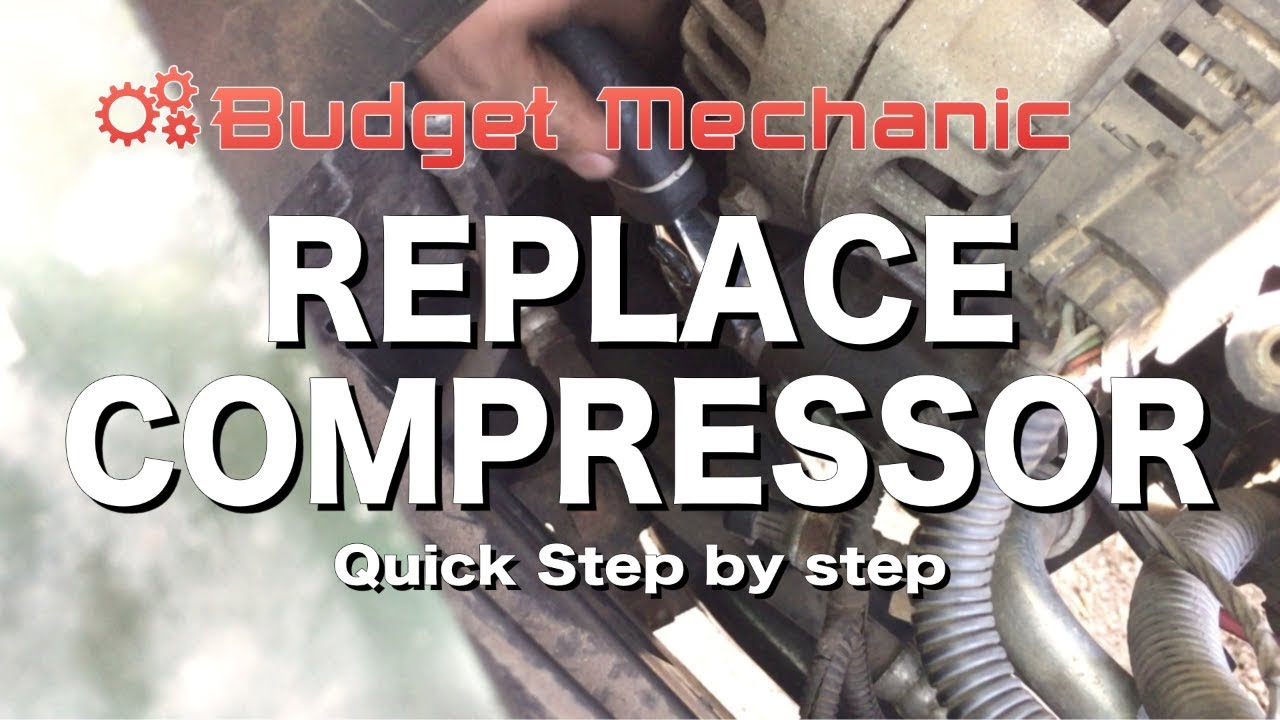 how to replace ac compressor saturn chevy pontiac ion cobalt [ 1280 x 720 Pixel ]