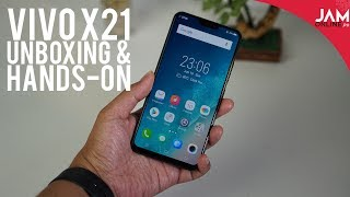 Vivo X21 Unboxing and Hands-On: Amazing Under-display Fingerprint Scanner
