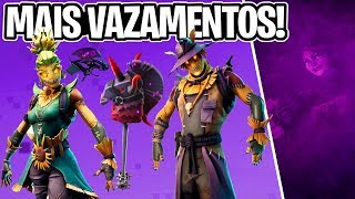 NEW SKINS LEAKED, SCARECROW, EVIL UNICORN AND MORE! -Fortnite, the