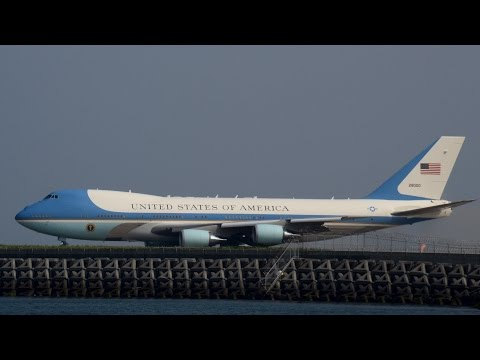 Air Force One at MCAS Iwakuni - President Obama visits Hiroshima エアフォースワン@岩国基地