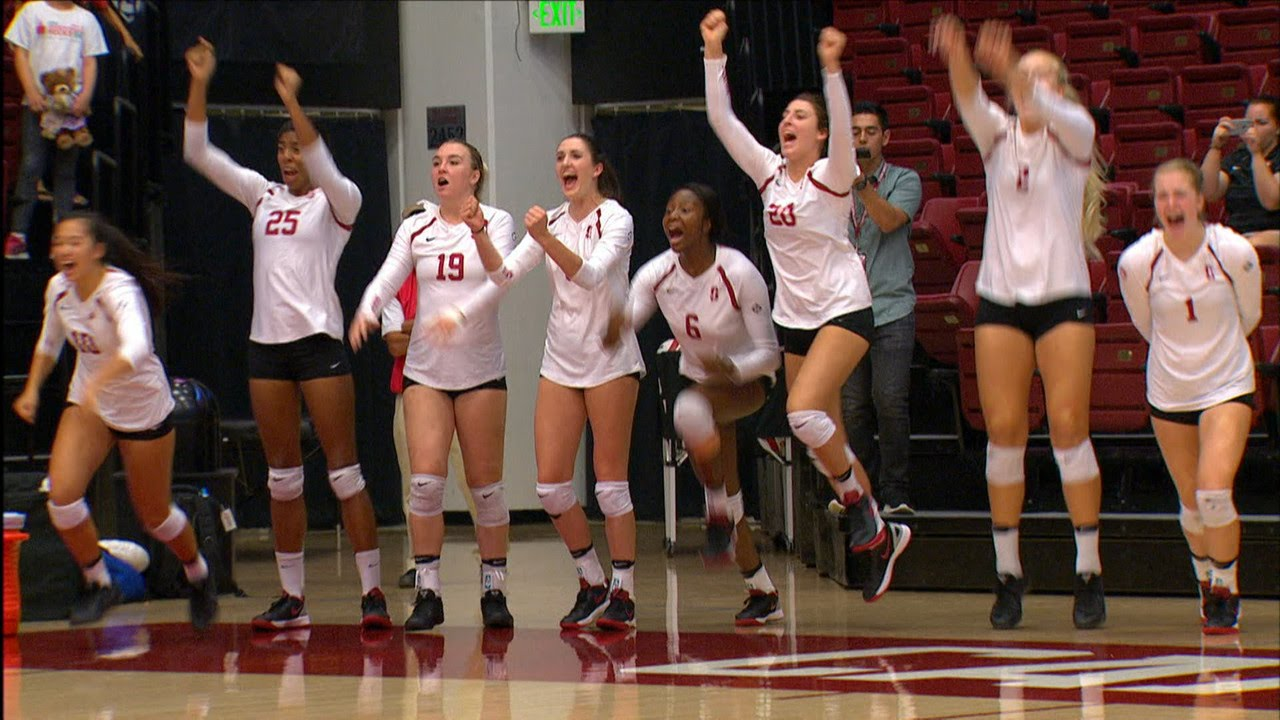 Recap: No. 11 Stanford women's volleyball takes down No. 3 ...