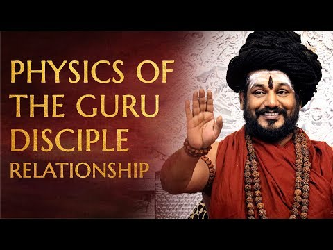 Physics of the Guru-Disciple Relationship