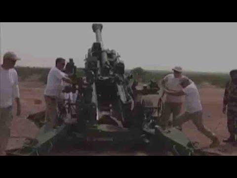 Indian Army begins trial of Howitzer M-777 guns in Rajasthan
