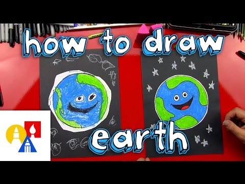 How To Draw Earth (for young artists)