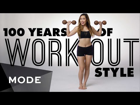 100 Years of Fashion: Workout Style  ★ Glam.com