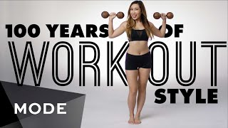 100 Years of Fashion: Workout Style  ★ Mode.com(For more videos like this, visit us on Mode: http://www.mode.com/mode-video Words like