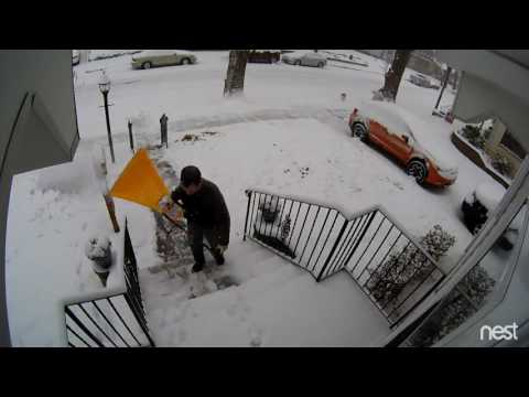 1/7/2017 Snowfall Audubon NJ