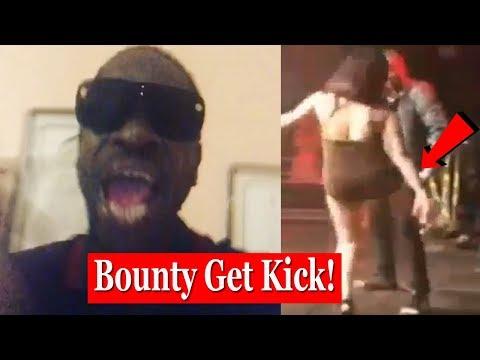 Bounty Killer Gets KICKED By Female Onstage In Europe | Villa Dutch Success 2018