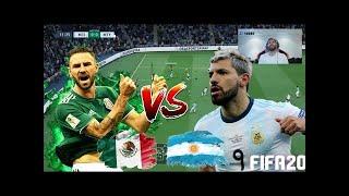 FIFA 20 !! KUN AGUERO VS MIGUEL LAYUN