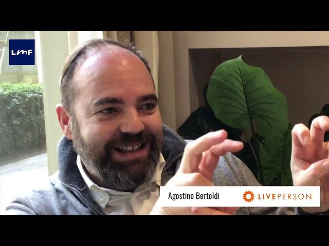 Cosa è il conversational commerce - Agostino Bertoldi (LivePerson Italy)