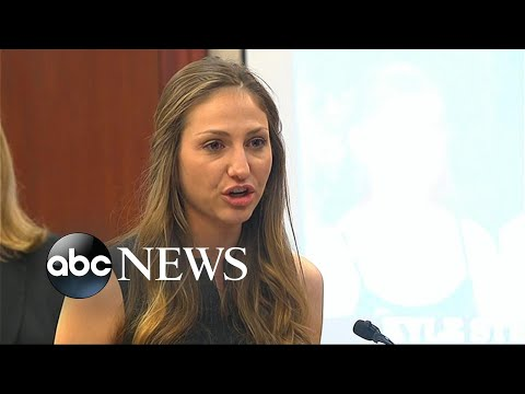 Sexual assault victims confront former Olympic doctor in court