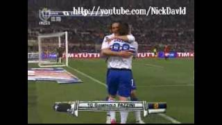 AS Roma vs Sampdoria 1-2 - All Goals and Full Highlights [25/04/2010]