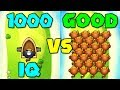 1000 IQ HACKER VS 100+ HACKED 0-0 DART MONKEYS! :: Bloons TD Battles