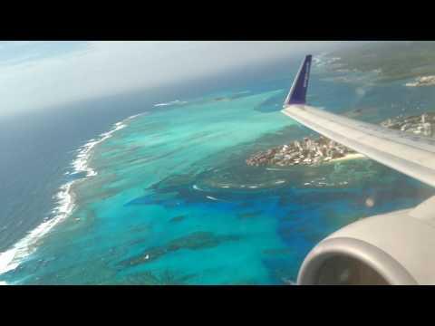 Take off San Andrés islas colombia