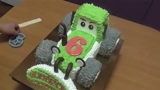 як зробити торт у вигляді трактора