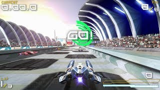Wipeout Pure PSP Gameplay HD (PPSSPP)