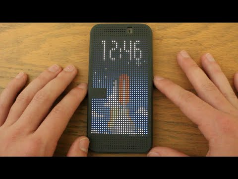 HTC One M9 Dot View Case Review!