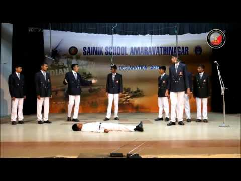 Sainik School Amaravathinagar IH DECLAMTION PALLAVA